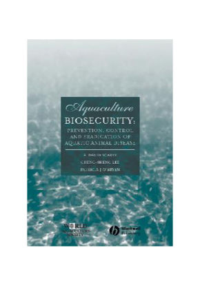 Picture of Aquaculture Biosecurity: Prevention, Control and Eradication of Aquatic Animal Disease